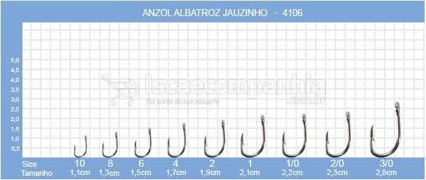 ANZOL JAUZINHO 4106