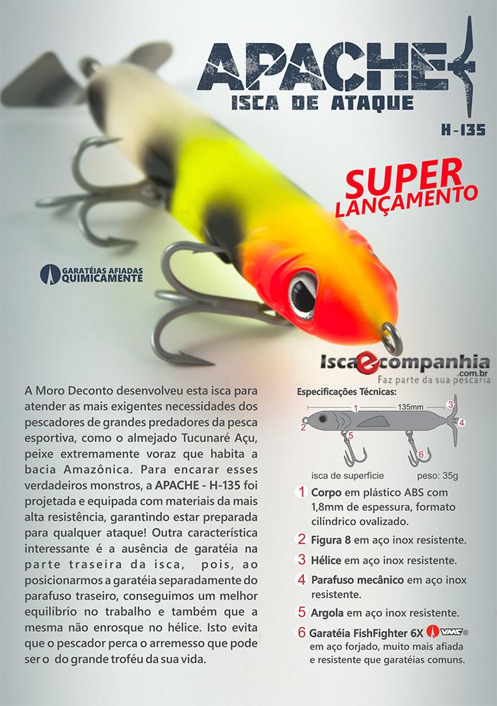 ISCA DECONTO APACHE H-135