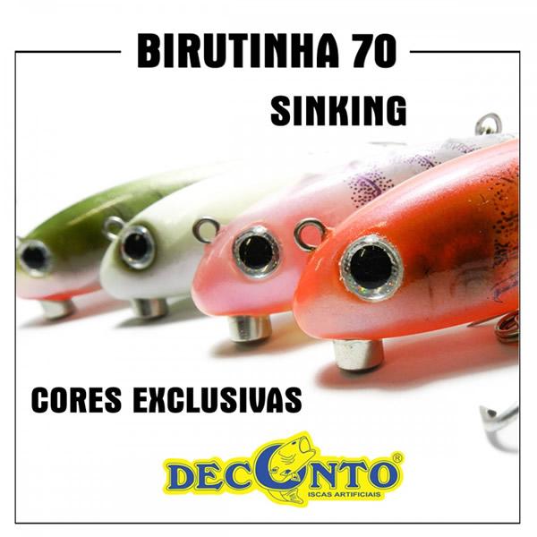 ISCA DECONTO BIRUTINHA 70 SINKING
