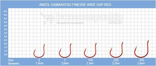GAMAKATSU FINESSE WIDE GAP