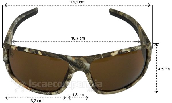 Óculos Polarizado Pro-Tsuri 10P0045