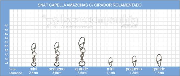 SNAP CAPELLA AMAZONAS COM GIRADOR E ROLAMENTO OWNER