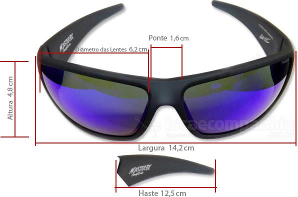 ÓCULOS BLACK MONSTER HIDROFÓBICO C  LENTE BLUE BY JOEL DATENA   ISCA ... 134b70cd65