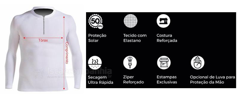 Camiseta Mar Negro Fishing Isca e Companhia 01