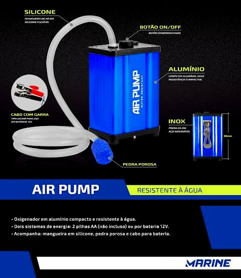Oxigenador Air Pump MS APWP-100 - Aerador