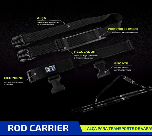 Alça para Transporte de Varas Rod Carrier - MS-PS12
