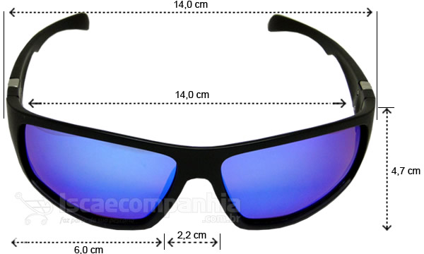 Óculos Polarizado Yara Dark Vision - 01853