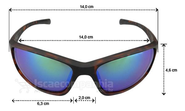 Óculos Polarizado Express Pacu - Verde