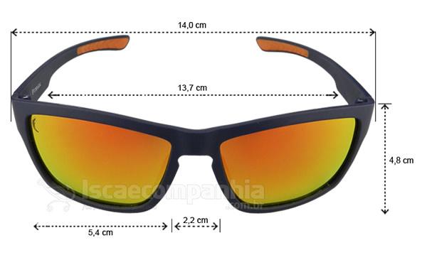 Óculos Polarizado Express Pirarucu - Laranja