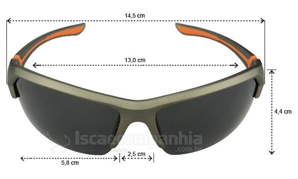 Óculos Polarizado Express Tucunaré - Cinza