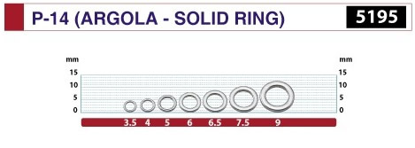ARGOLA SOLID RING P-14 5195