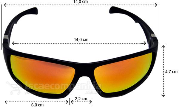 Óculos Polarizado Yara Dark Vision - 01852
