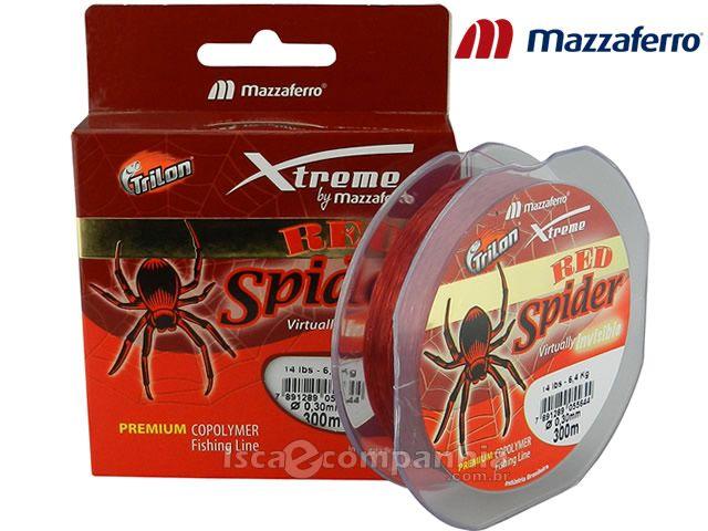 Linha Trilon Red Spider Mazzaferro 0,25mm 300m