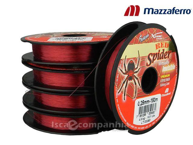 Linha Trilon Red Spider Mazzaferro 0,45mm 100m