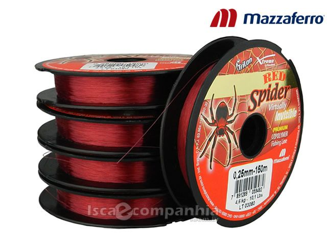Linha Trilon Red Spider Mazzaferro 0,40mm 100m