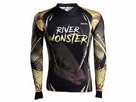 Camiseta BRK River Monster Piapara com Fpu 50+