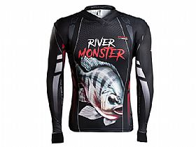 Camiseta BRK River Monster Tilápia com Fpu 50+