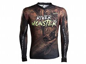Camiseta BRK River Monster Trairão com Fpu 50+