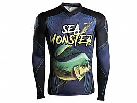 Camiseta BRK Sea Monster Dourado do Mar com Fpu 50+