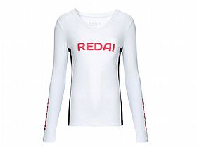 Camiseta Redai Performance Feminina Team Branco