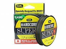 Linha Duel Hardcore Super 8 Micro Pitch Braid 65Lbs 0,41mm 135Mts