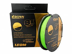 Linha Multi Crown Finesse 8X - 8 Fios - 150m