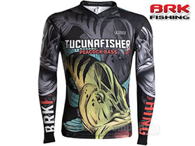 CAMISETA BRK RIVER MONSTER TUCUNA FISHER COM FPU 50+