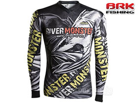 CAMISETA BRK RIVER MONSTER SKULL COM FPU 50+