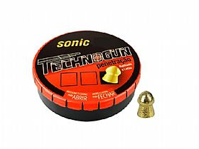 Chumbinho Technogun Sonic Gold Latonado 4,5mm - 250un