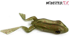 ISCA X-FROG TOP WATER MONSTER 3X + 1 Anzol EWG 4/0
