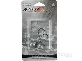 JIG HEAD MONSTER 3X X-HOOK - 5/0 14gr - 2 UNIDADES