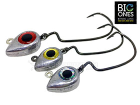 JIG HEAD BIG EYE TWISTER BIG ONES  4/0  21gr  - 2UN