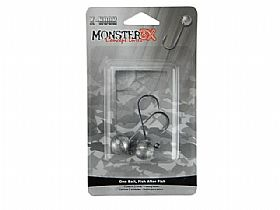 Jig Head Monster 3x X-Hook - 5/0 17gr - 2UN