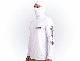 Camiseta Masculina Fishing Co Ninja - Branco UFP50+