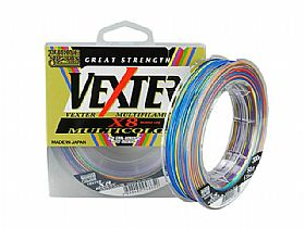 Linha Marine Sports Multifilamento Vexter X8 Multicolor 30Lbs 0,25mm 300Mts
