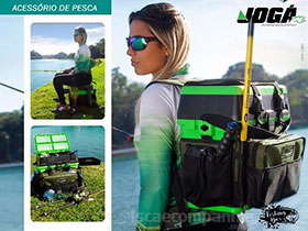 CAIXA DE PESCA MOCHILA FISHING BOX JOG�
