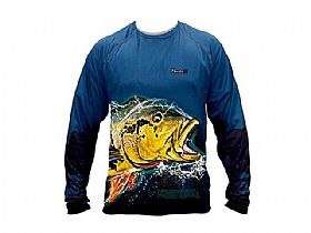 Camisa Fish Collection Tucunaré Açu Monster 3X - Nova Coleção