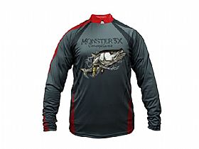 Camiseta New Fish 4 Robalo Monster 3X