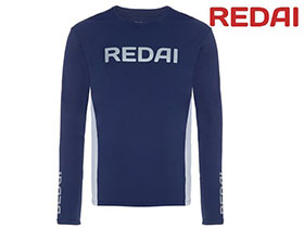 CAMISETA REDAI PERFORMANCE MASCULINA TEAM AZUL
