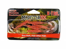 Isca Monster 3X Soft X-Tail - 8cm