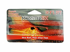 Isca Shad Monster X-Flat - 12cm 6gr