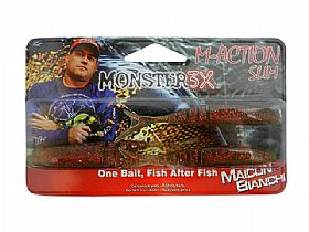 Isca Monster 3X M-Action Slim Soft Bait - 9,5cm