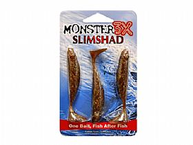 Shad Monster 3X Slim G - 9cm 3UN