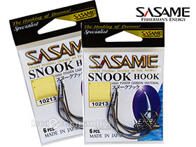 ANZOL SASAME SNOOK HOOK 10213 SIZE 1 - 6UN